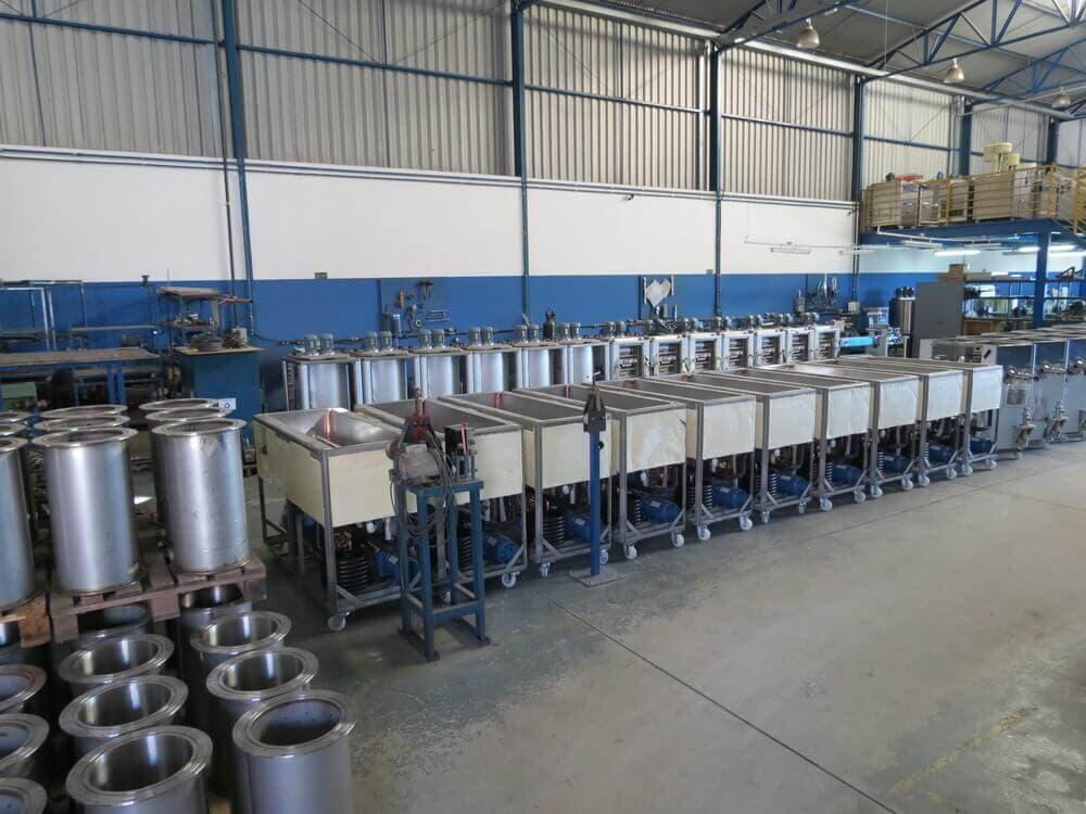 Fábrica de máquinas de sorvete