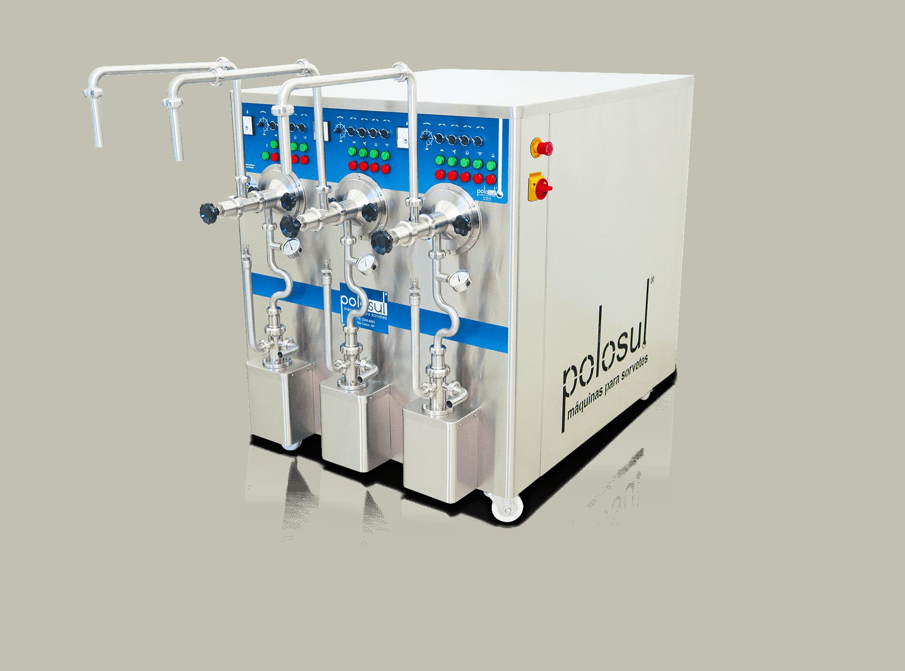 Produtora Contínua de Sorvete e Açaí da Polo Sul Máquinas Para Sorvete, Açaí e Picolé